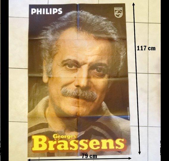 Affiche Georges BRASSENS 55 €