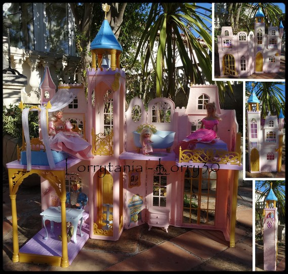 Chateau de barbie rose 20 vendu vendu candice - Chateau de barbie ...