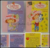 2 livres Charlotte aux Fraises 3 €