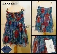 9-10A Tunique ZARA Kids 8 € NEUVE  fleurie bretelle