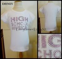 12A T shirt HSM 2 € HIGH SCHOOL MUSICAL blanc