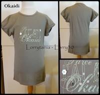 12A T shirt OKAIDi 2 € MC kaki