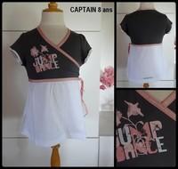 8A Tee shirt Jump Dance CAPTAIN neuf 4,50 €