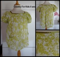 8A blouse COUNTRY FOR KIDS 1,50€