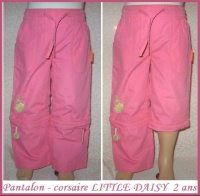 2A_pantalon-corsaire rose LITTLE DAISY 3 €