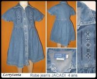 4A Robe jeans JACADI 5 €