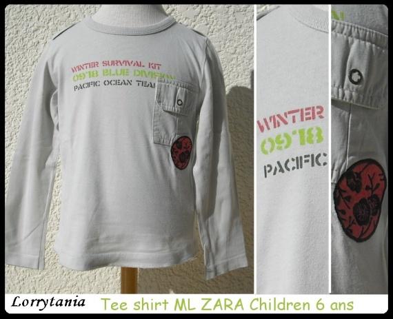 6A T shirt ML ZARA 4 €