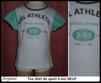 4A Tee shirt sport athletic NEUF 3 €