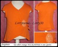 5A T shirt orange MILKSHAKE 3 €