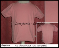 5A T shirt rose TEX 1,50 €