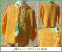 12M Gilet CLAYEUX Neuf 14 €