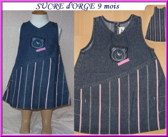 9m Robe SUCRE D'ORGE 5 €