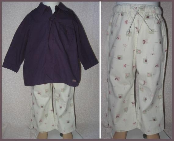 2A_ensemble chemise violette Contre Vents et Marées 10 €