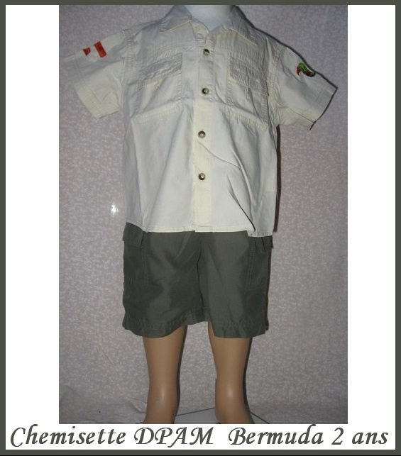 2A_chemisette DPAM + bermuda 5 €