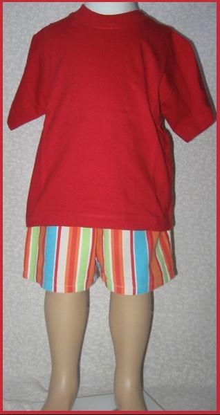 2A_Tee shirt + short 2 €