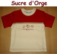2A_tee shirt SUCRE D'ORGE 5 €