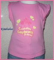 2A Tshirt rose KIBALOO 1,50 €