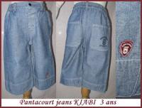 3A Pantacourt KIABI 1,50 €