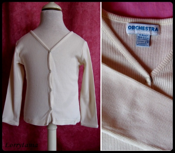 4A_gilet beige ORCHESTRA 2,50 €