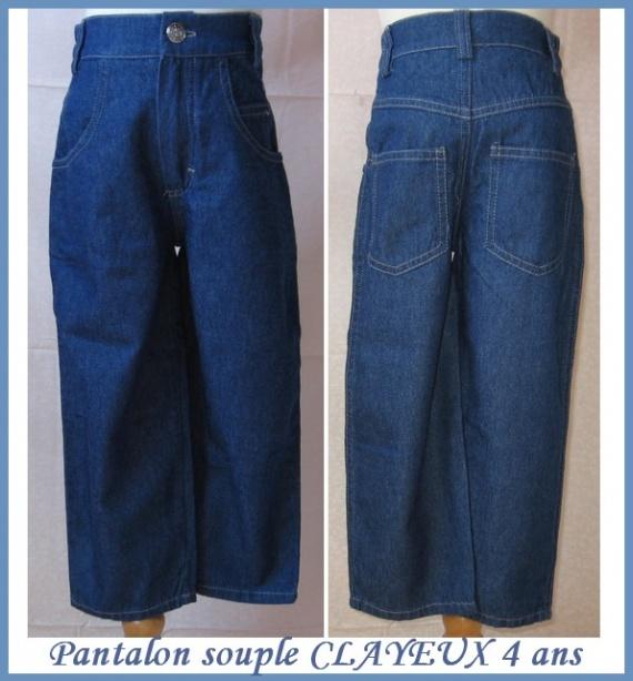 4A_pantalon CLAYEUX Neuf 8 €