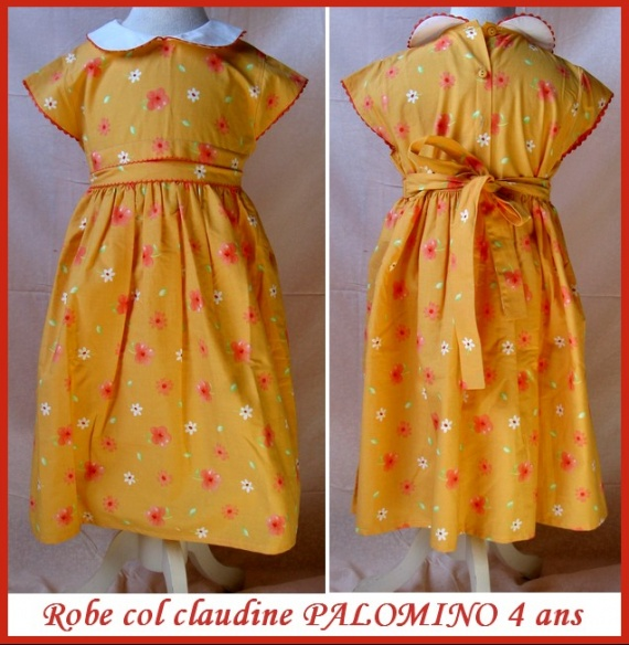 4A_robe à fleurs PALOMINO 4 €