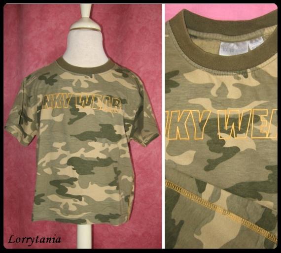 4A_Tshirt camouflage KIABI 1,50 €