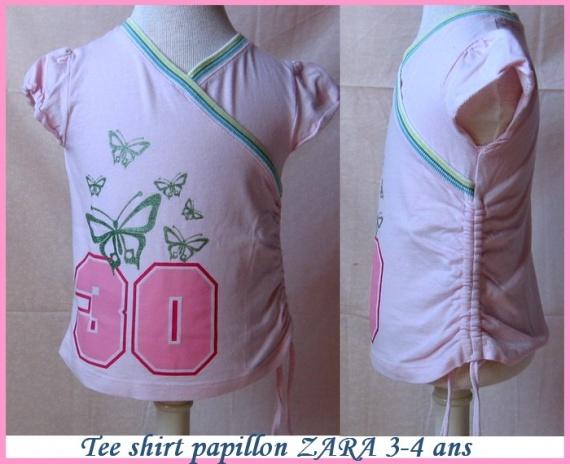 4A_Tshirt papillon ZARA 4 €