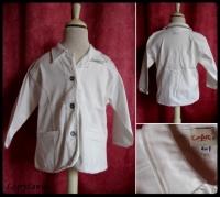 4A_veste blanche CONFETTI 6 €