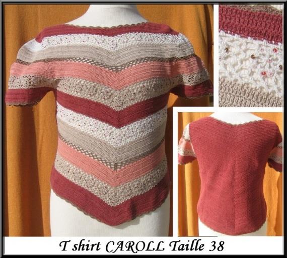 T38 Tshirt tricot CAROLL 6 €