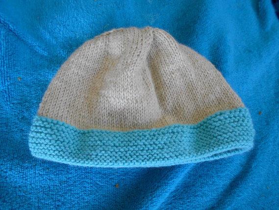 1er tricot pour pti mek