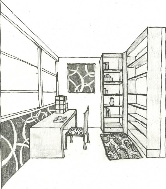 Dessin Chambre 3d