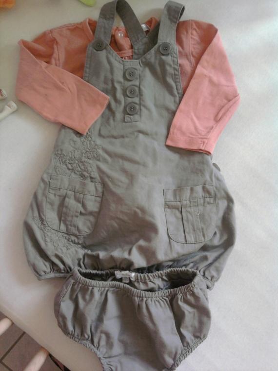 ensemble robe kitchoun 4€