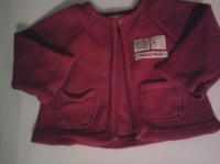 gilet rouge 2€