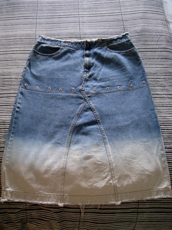 jupe en jeans 5€