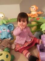 photo de la jupe eliane 12 mois et du gilet parme orchestra 9 mois