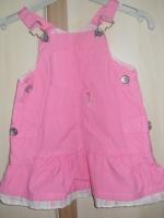 robe salopette jeans leger acheté en italie (taille grand) 4€