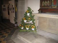 autres fleurs dans l'église