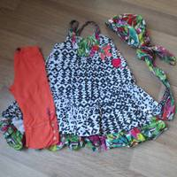 ensemble robe fichu legging