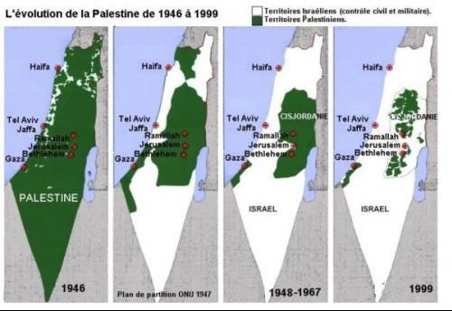 cartesisraelrayePalestine