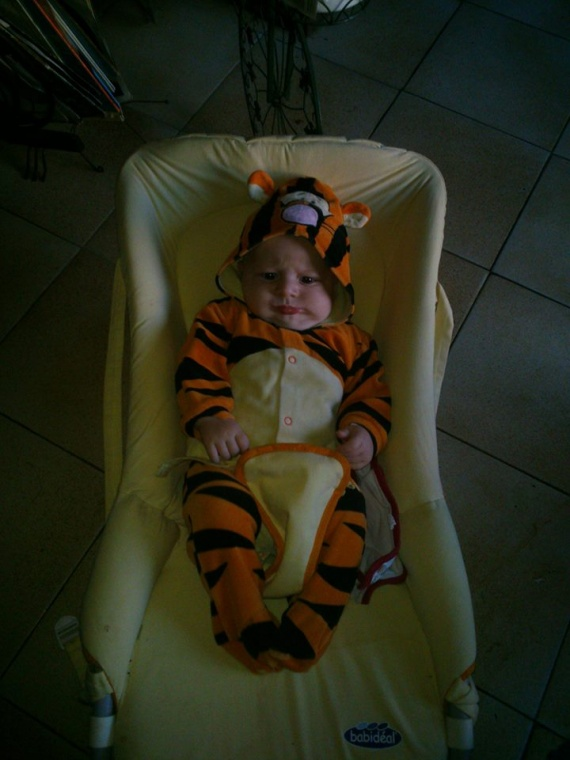 bébé tigrou