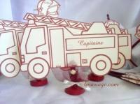 marque table pompier