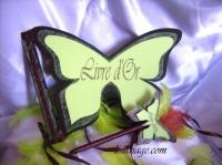 livred'or forme papillon