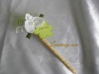 stylos orchidée blanche