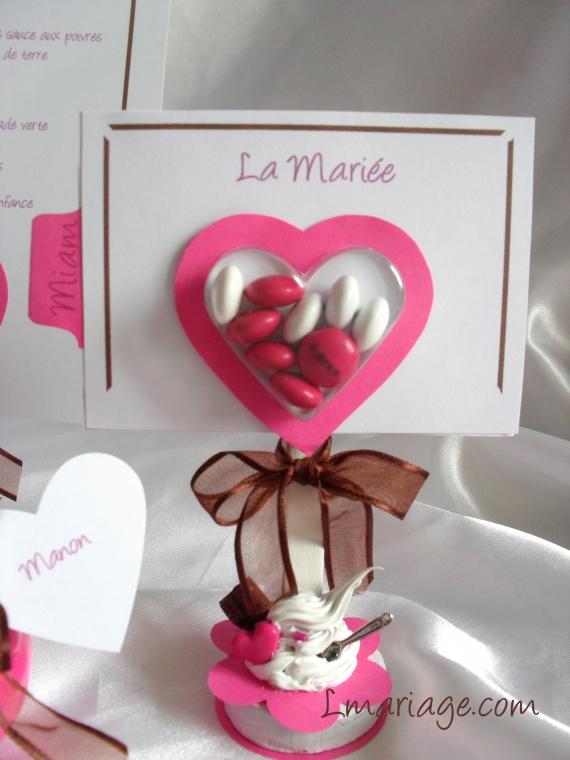 marque place thème bonbons