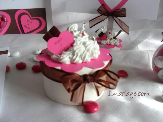 boite à dragées thème bonbon