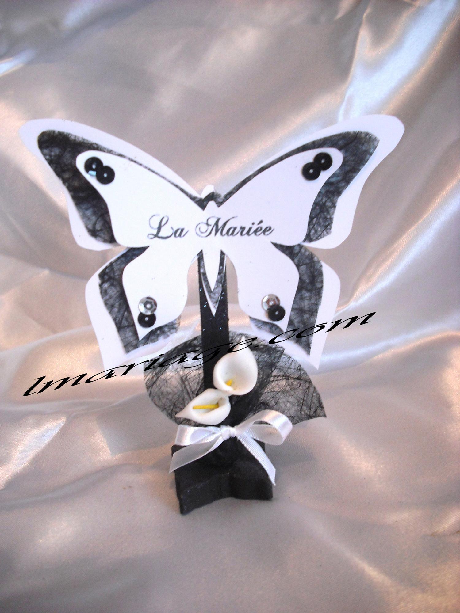 marque place papillon noir et blanc th me papillon laeti3133 photos club doctissimo. Black Bedroom Furniture Sets. Home Design Ideas