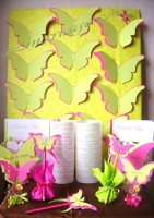 Plan de table papillon