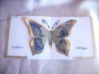 faire part papillon