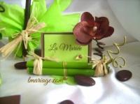marque place bambou et orchidée