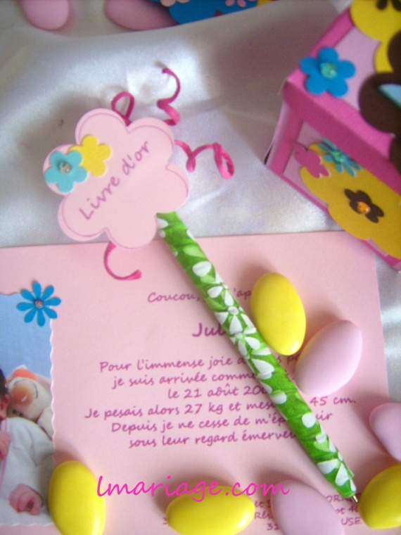 stylos pop fleur